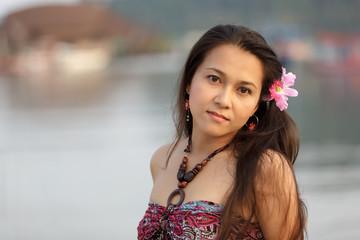 asian thai woman portrait