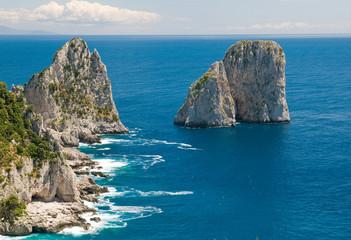 Capri, i faraglioni