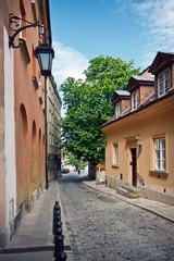 Warsaw - Old Town street