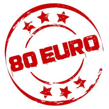 Stempel: 80 Euro