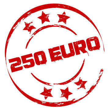 Stempel: 250 Euro