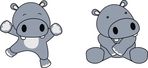 hippo baby cartoon1
