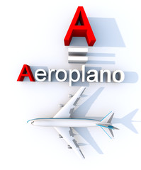 A come aeroplano