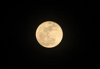 The Full Moon as seen from the Desert