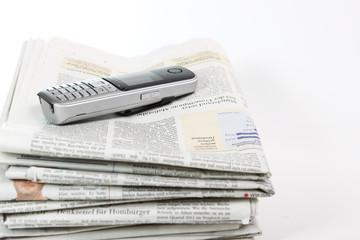 Stellenangebote in der Zeitung durcharbeiten