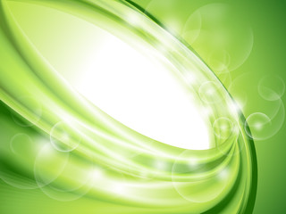 Abstract green background (no mesh) Wall mural