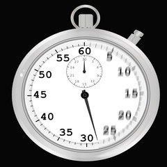Cronometro con sensación de movimiento