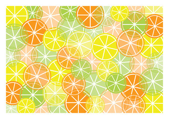 abstract background with color fruit