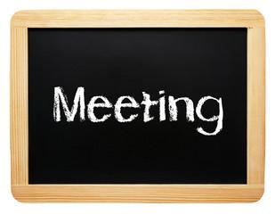 Meeting - Kreide Tafel