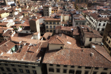 Florence Italy Rooftops