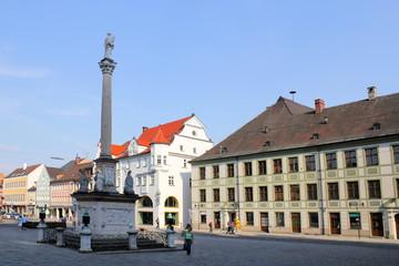 Fotomurales - Freising Marienplatz