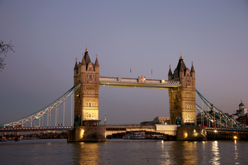 Foto op Canvas London Tower Bridge at dusk