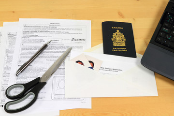Canadian Passport Renewal by mail.