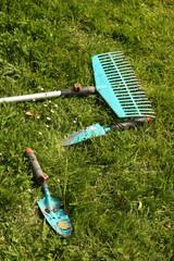 Werktzeuge für Gartenarbeit