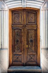 Decorated door in Granada