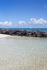 Strand von Grande Baie - Mauritius - Beach of Grande Baie