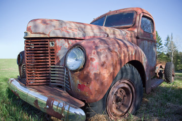 Alter Pick-up-Truck - Old Truck