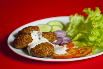 Turkish kofte (meat ball)