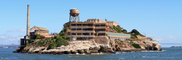 Wall Mural - Alcatraz island