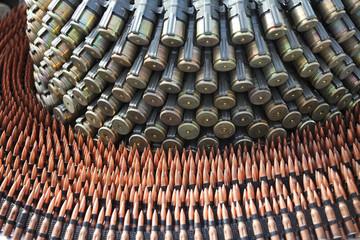 Ammunition: assorted cartridges
