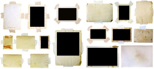 Vintage photo frames set, big collection