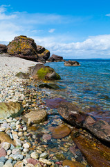 Fallen Rocks at Sannox on the Isle of Arran