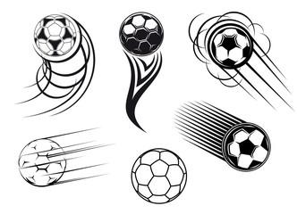 Football and soccer symbols and mascots
