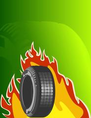 Vector background of car design