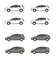 neutrale Kompaktwagen, Designstudien
