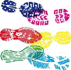 shoes tracks
