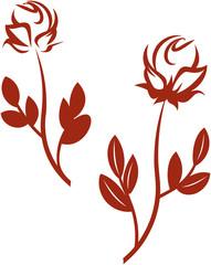 Roses.  Vector illustration