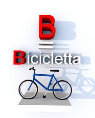 B come bicicletta