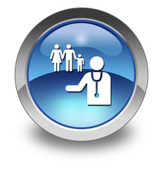 "Glossy Pictogram ""Family Practice"""