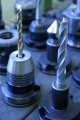 Bohrer in Maschinenfabrik