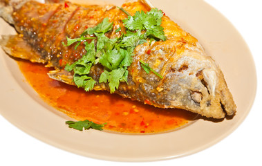 fried spices snapper