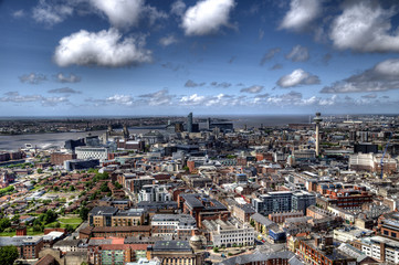 Liverpool City Centre, England