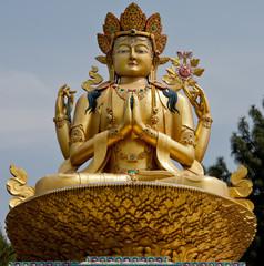 Statue of Chenrezig from Kathmandu Buddha Park