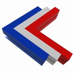 freccia tricolore Francia