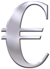 Silver Euro Sign v1