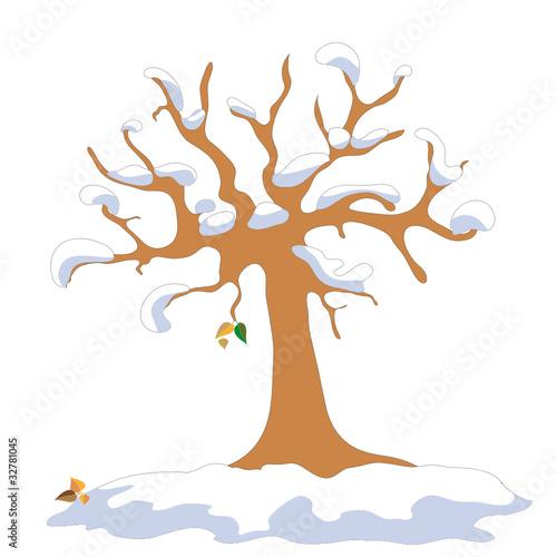 Baum in winter stockfotos und lizenzfreie vektoren auf - Baum comic bilder ...