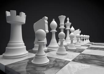 Chess white set