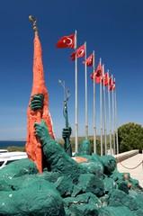 Details of Turkish war graves at Gallipoli