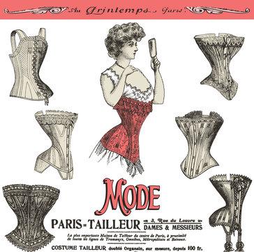 les corsets de Paris