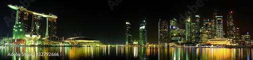 Fotomurales skyline Singapour