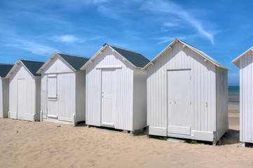 Cabines de plage - Saint-Aubin-Sur-Mer