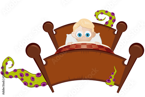Monster Cartoon Bett Stock Image And Royalty Free Vector Files On