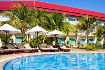 Swimming pool in Cambodia