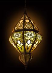 Illustration of stylish Arabic Lantern Ideal for Ramadan concept