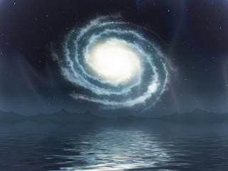 galaxy sea