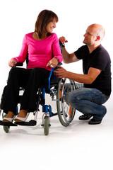 unterhaltung behindert rollstuhl gesund